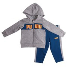 PUMA Baby Boys Accent Logo Fleece Hoodie & Joggers
