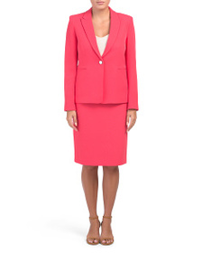 TAHARI BY ASL Coral Suit Set Collection
