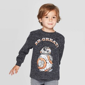 Toddler Boys' Star Wars Long Sleeve T-Shirt - Heat