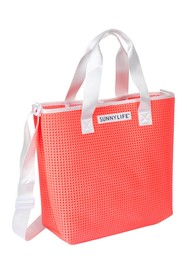 Sunnylife Refresh Tote Bag - Neon Coral