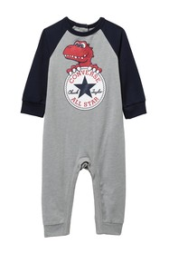 Converse Dino Chuck Patch Coverall (Baby Boys 12-2