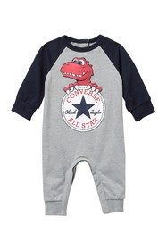Converse Dino Chuck Patch Coverall (Baby Boys 0-9M