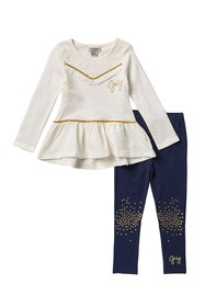 Juicy Couture Tunic & Jegging Set (Little Girls)