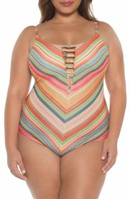 BECCA West Village One-Piece Swimsuit (Plus Size)
