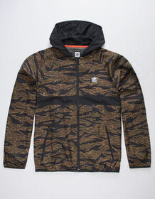 ADIDAS Camouflage BB Wind Packable Mens Jacket_