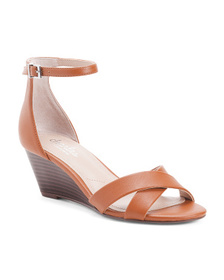 CHARLES BY CHARLES DAVID Ankle Strap Stacked Wedge