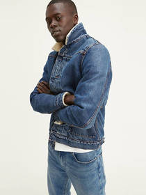 Levi's Type 2 Sherpa Trucker Jacket