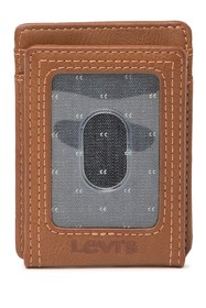 Levi's Leather RFID Magnetic Flip Wallet