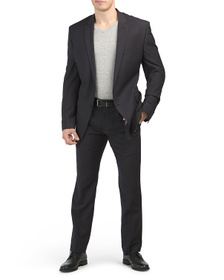 PERRY ELLIS Solid Suit Separates Collection