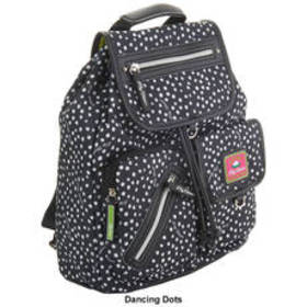 Lily Bloom Riley Backpack - Dancing Dots