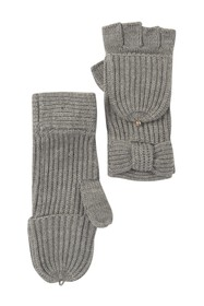 kate spade new york pop top bow mittens