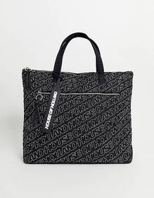 House Of Holland quilted tote bag