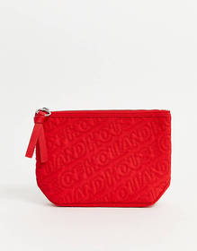 House Of Holland quilted pouch