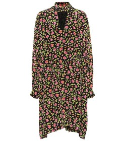 Balenciaga Floral silk dress