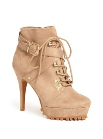 Lugsy Lug-Sole Stiletto Booties