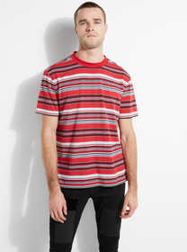 Kickflip Striped Jersey Tee