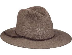 Scala® Women's Braided-Trim Wool Safari Hat