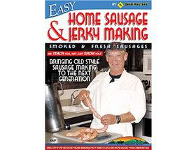 Easy Home Sausage and Jerky Making DVD