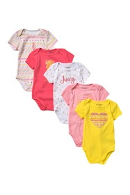 Juicy Couture Assorted Bodysuits - Pack of 5 (Baby