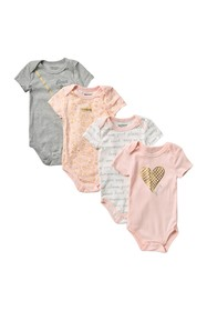 Juicy Couture Assorted Bodysuits - Pack of 4 (Baby