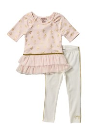 Juicy Couture Butterfly Tunic & Leggings Set (Todd