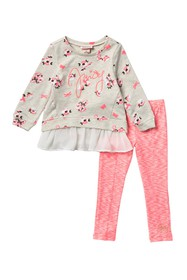 Juicy Couture Tunic & Leggings Set (Little Girls)