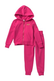 Juicy Couture Sequin Hoodie Set (Little Girls)
