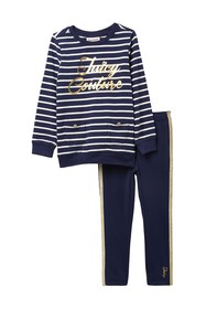 Juicy Couture Striped 2-Piece Set (Toddler Girls)