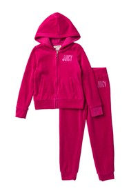 Juicy Couture Hoodie Set (Little Girls)