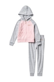 Juicy Couture 2-Piece Velour Set (Toddler Girls)