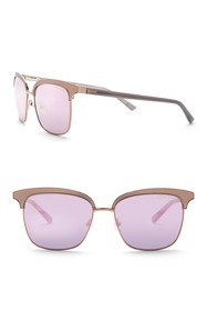 Ted Baker London 55mm Clubmaster Sunglasses