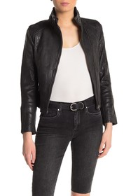 Joe's Jeans Lacy Leather Moto Jacket