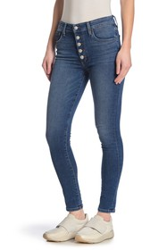 Joe's Jeans High Rise Button Fly Skinny Ankle Jean