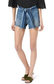 Joe's Jeans The High Rise Belted Denim Shorts