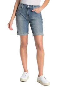 Joe's Jeans Bermuda Raw Hem Shorts