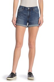 Joe's Jeans Rolled Hem Denim Shorts
