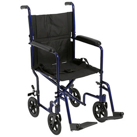 Drive Medical Lightweight Transport Wheelchair 19