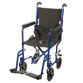 Drive Medical Dash Lightweight Transport Wheelchai