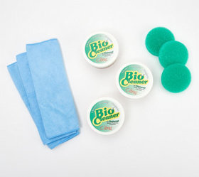 Bio Cleaner Set of 3 Supersize Cleaning Clay w/ Ac