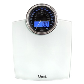 Ozeri Rev Digital Bathroom Scale with Electro-Mech