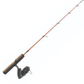 Frabill Arctic Fire Spinning Ice Rod And Reel Comb