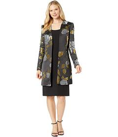 Tahari by ASL Open Topper and Dress Set