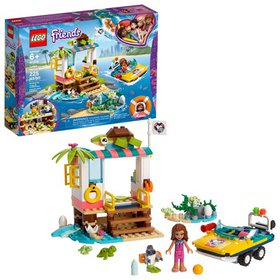 LEGO Friends Turtles Rescue Mission 41376 Building