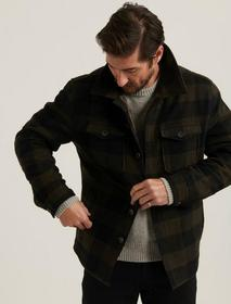 Lucky Brand Check Shirt Jacket