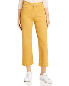 7 For All Mankind - Alexa Cropped Wide-Leg Jeans i