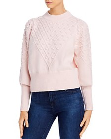FRENCH CONNECTION - Bobble Knits Cropped Popcorn S