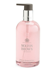 MOLTON BROWN 10oz Delicious Rhubarb And Rose Hand