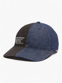 Levi's Split Denim Baseball Hat