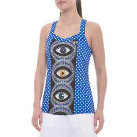 MB Court Central Tank Top (For Women) in Evie/Polk