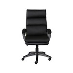 Staples Rockvale Luxura Faux Leather Manager Chair